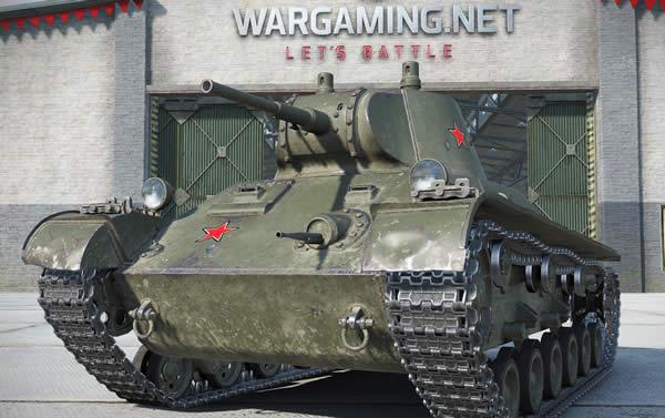 WoT T-127 Tier3 課金軽戦車