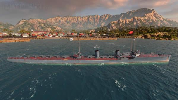 WoWS オホートニク ソ連 Tier5 課金駆逐艦