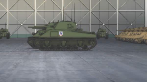 ガールズ&パンツァー サンダース大附属高校 シャーマン戦車 いっぱい