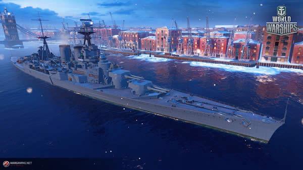 WoWS フッド Tier7 イギリス 課金戦艦
