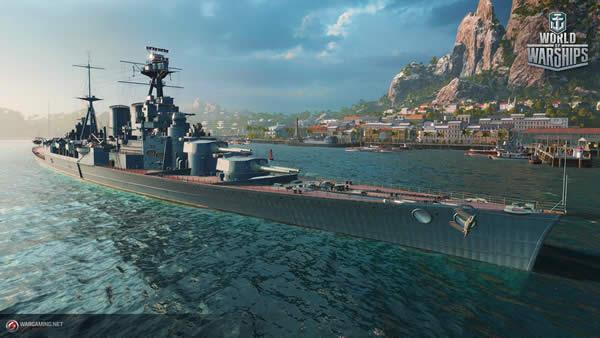 WoWS フッド Tier7 イギリス 課金戦艦 02