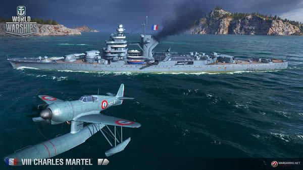 WoWS シャルル・マルテル Tier8 フランス巡洋艦