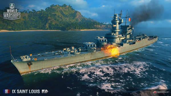WoWS サン・ルイ Tier9 フランス巡洋艦