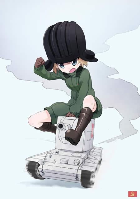 ガールズ&パンツァー カチューシャ KV-2 SD