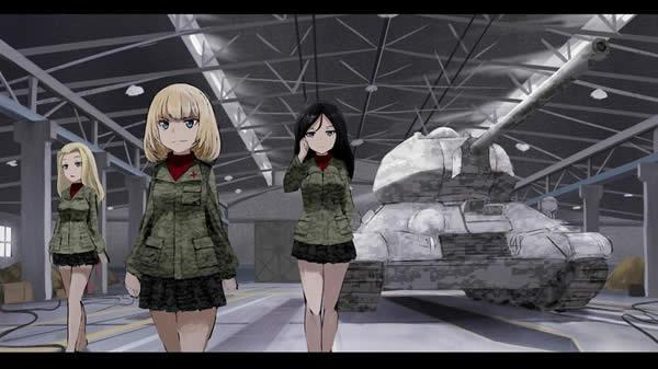 ガールズ&パンツァー カチューシャ ノンナ クラーラ T-34/85