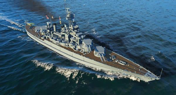 WoWS コロラド Tier7 アメリカ 戦艦