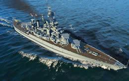 WoWS コロラド Tier7 アメリカ 戦艦 サムネイル