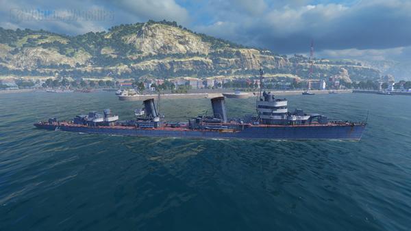 WoWS ミンスク ソ連 Tier7 駆逐艦