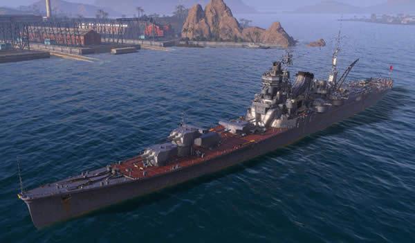 WoWS 利根 日本 課金 巡洋艦