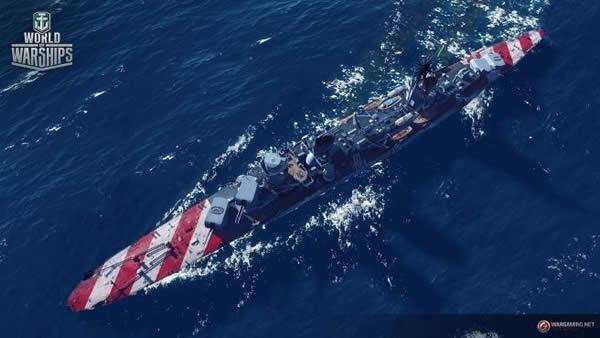WoT エマヌエーレ・フィリベルト・ドゥーカ・ダオスタ イタリア 課金巡洋艦