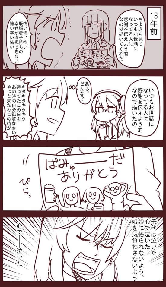 ガールズ&パンツァー 西住しほ 島田千代 島田愛里寿 漫画