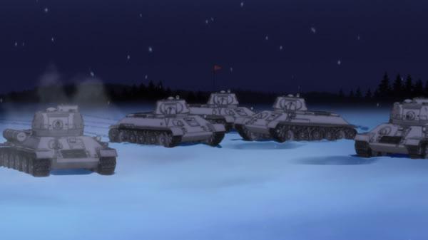 ガールズ&パンツァー プラウダ高校 T-34 フラッグ車