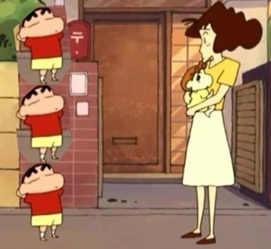 クレヨンしんちゃん しんちゃん みさえ 身長比較
