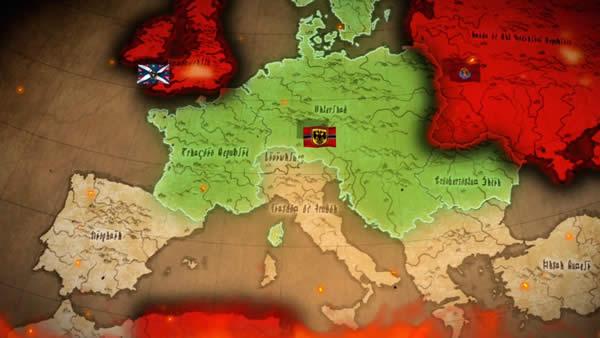 幼女戦記 戦略地図 帝国周辺
