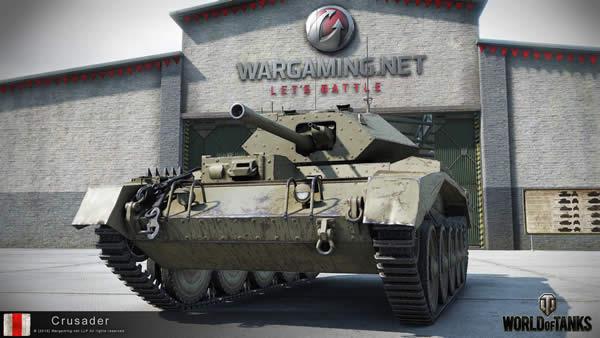 WoT クルセイダー巡航戦車 イギリス Tier5 中戦車