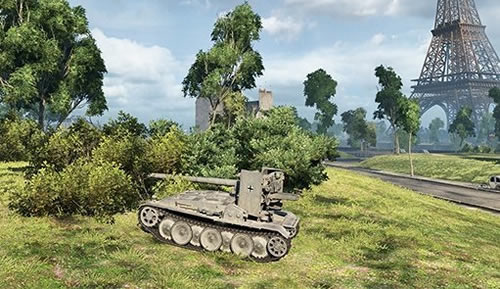 WoT パリのGrille 15