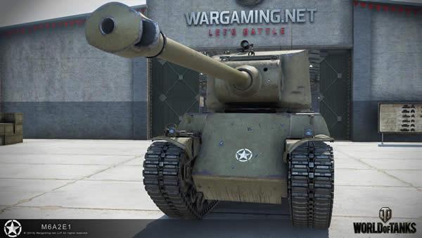 WoT M6A2E1 アメリカ Tier8 課金重戦車
