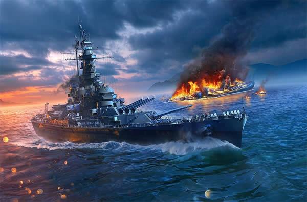 WoWS アラバマ アメリカ Tier8 課金戦艦