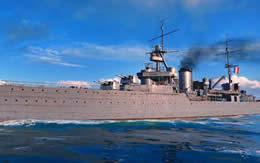 フリアン フランス Tier3 巡洋艦 サムネイル