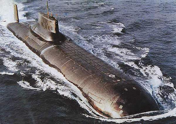 タイフーン級原子力潜水艦