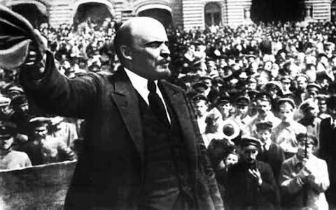 ロシア革命 レーニン