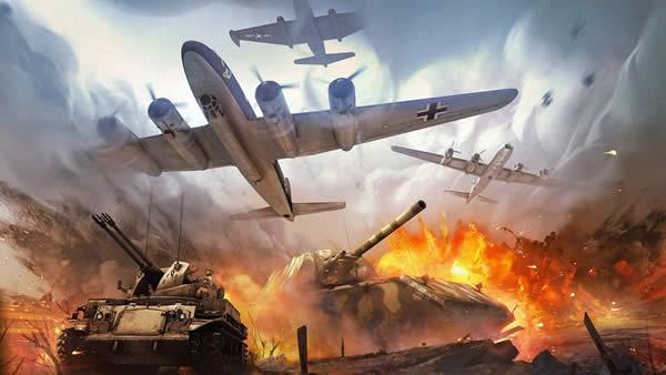 War Thunder 炎