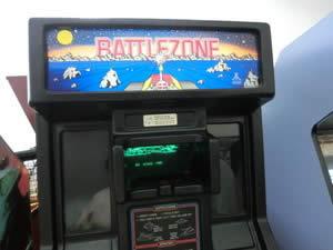 アーケードゲーム BATTLEZONE