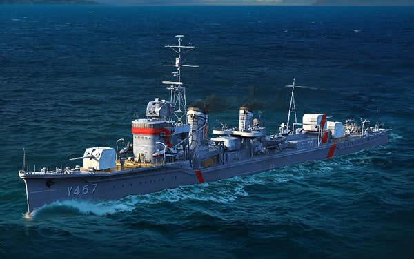WoWS 晴風 日本 Tier8 課金駆逐艦 はいふり ハイスクール・フリート