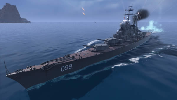 WoWS モスクヴァ モスクワ Tier10 ソ連 巡洋艦