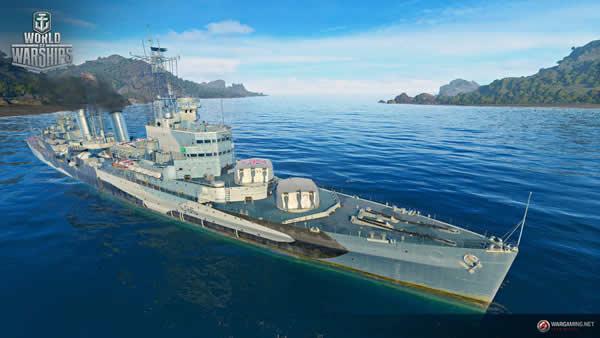 WoWS ベルファスト イギリス Tier7 課金巡洋艦