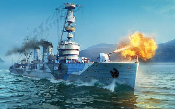 WoWS クラースヌィイ・クルィーム ソ連 Tier5 課金巡洋艦 カニクリーム