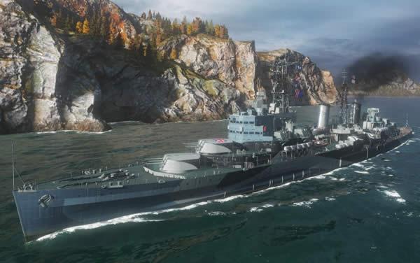WoWS ベルファスト Tier7 課金巡洋艦