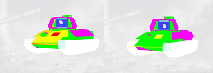 WoT T-34-85M 装甲配置