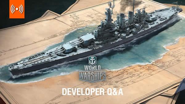 WoWS デベロッパー Q&A