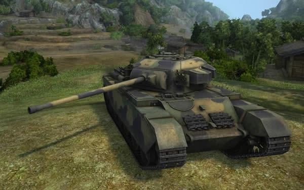 WoT カーナーヴォン イギリス Tier8 重戦車