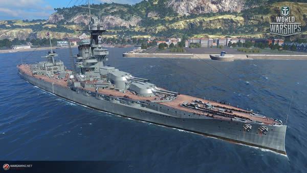 WoWS アイアン・デューク イギリス Tier5 戦艦