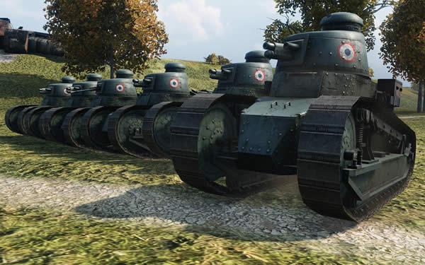 WoT ルノーFT フランス Tier1 軽戦車