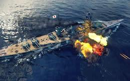 WoWS 戦艦 紀伊 Tier8 課金 砲撃 サムネイル