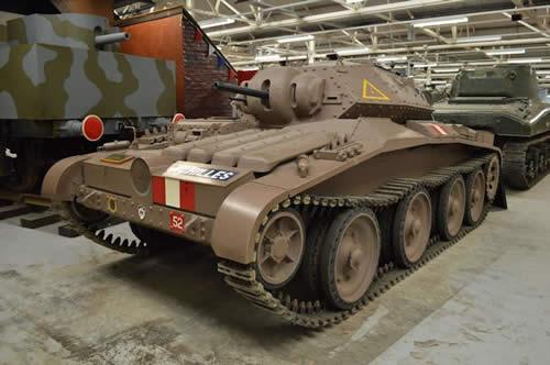 カヴェナンター イギリス 戦車 ボービントン戦車博物館