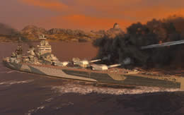 WoWS ネルソン Tier7 イギリス プレミアム戦艦 サムネイル