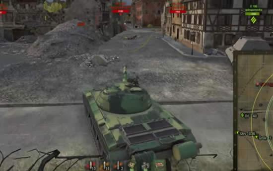 WoT ストライク先生のゲーム画面