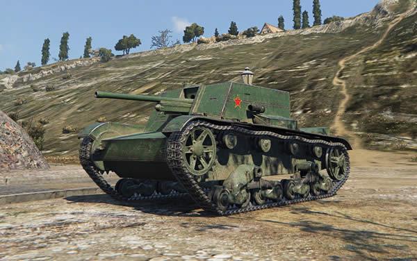 WoT T-26G FT 中国 Tier2 駆逐戦車