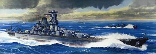戦艦 武蔵 日本 プラモデルパッケージ