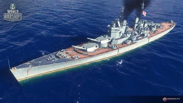 WoWS コンカラー イギリス Tier10 戦艦