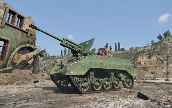 WoT M3G FT 中国 Tier3 駆逐戦車