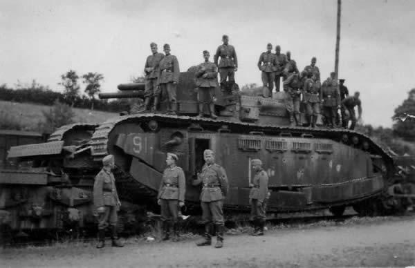 シャール 2C 重戦車 フランス