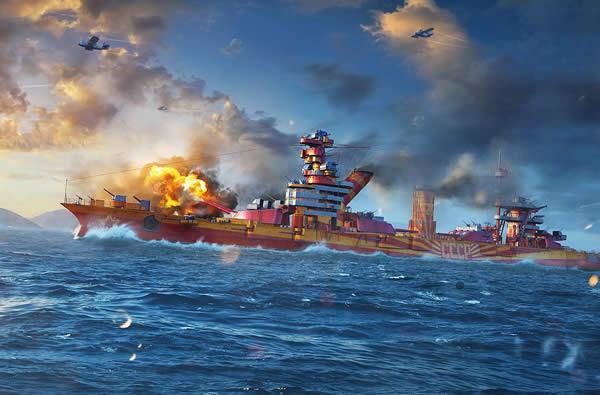 WoWS オクチャブリスカヤ・レヴォリューツィヤ ソ連 Tier5 プレミアム艦 戦艦