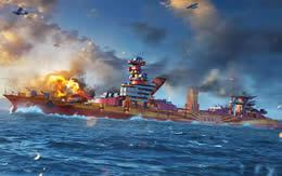 WoWS オクチャブリスカヤ・レヴォリューツィヤ ソ連 Tier5 プレミアム艦 戦艦 サムネイル