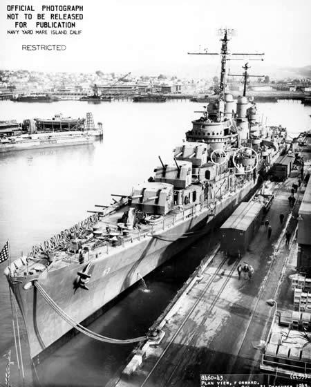 サンディエゴ アメリカ海軍 軽巡洋艦 アトランタ級3番艦