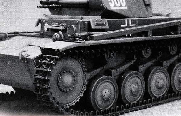 履帯 2号戦車